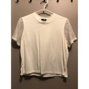 Wilfred Free Mesh Sleeve T-shirt